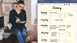 How I'm Using GoodNotes for My Daily To Do Lists
