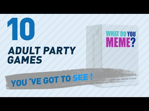 What Do You Meme? Adult Party Games // The Most Popular 2017