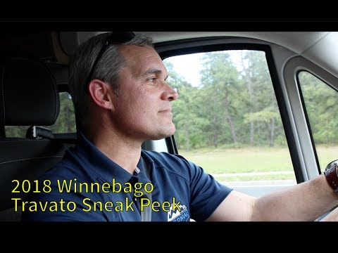 2018 Winnebago Travato Walkthrough Sneak Peek