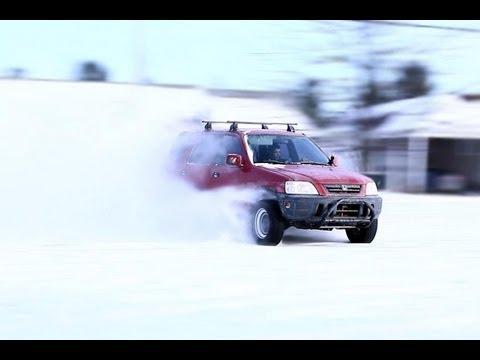 CRV H2B winter drift video