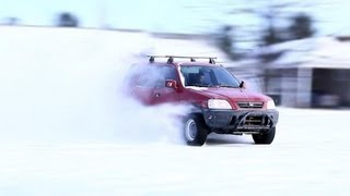 CRV H2B winter drift video(, 2013-06-12T22:01:32.000Z)