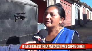 INTENDENCIA CONTROLA MERCADOS PARA CORPUS CHRISTI