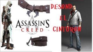 Assessin's Creed DESMOND MILES | Cinturón  Revisado