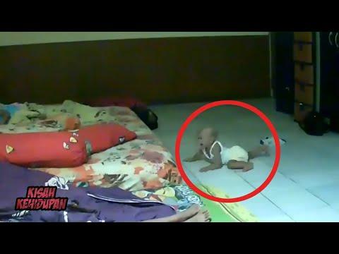 HANTU VIRAL..! Bayi Ini Ditarik Hantu Keluar Dari Tempat Tidurnya