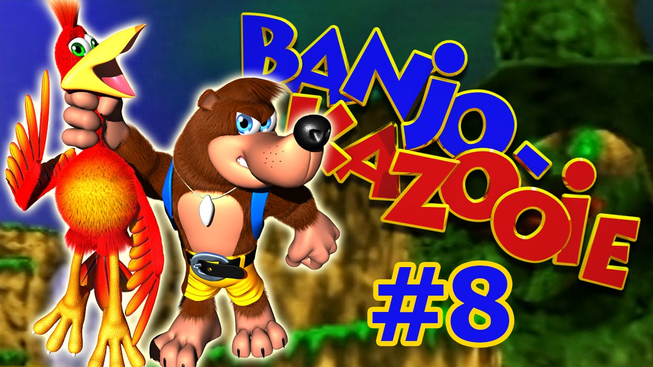 geisterjagd in mad monster mansion - banjo kazooie gameplay #8