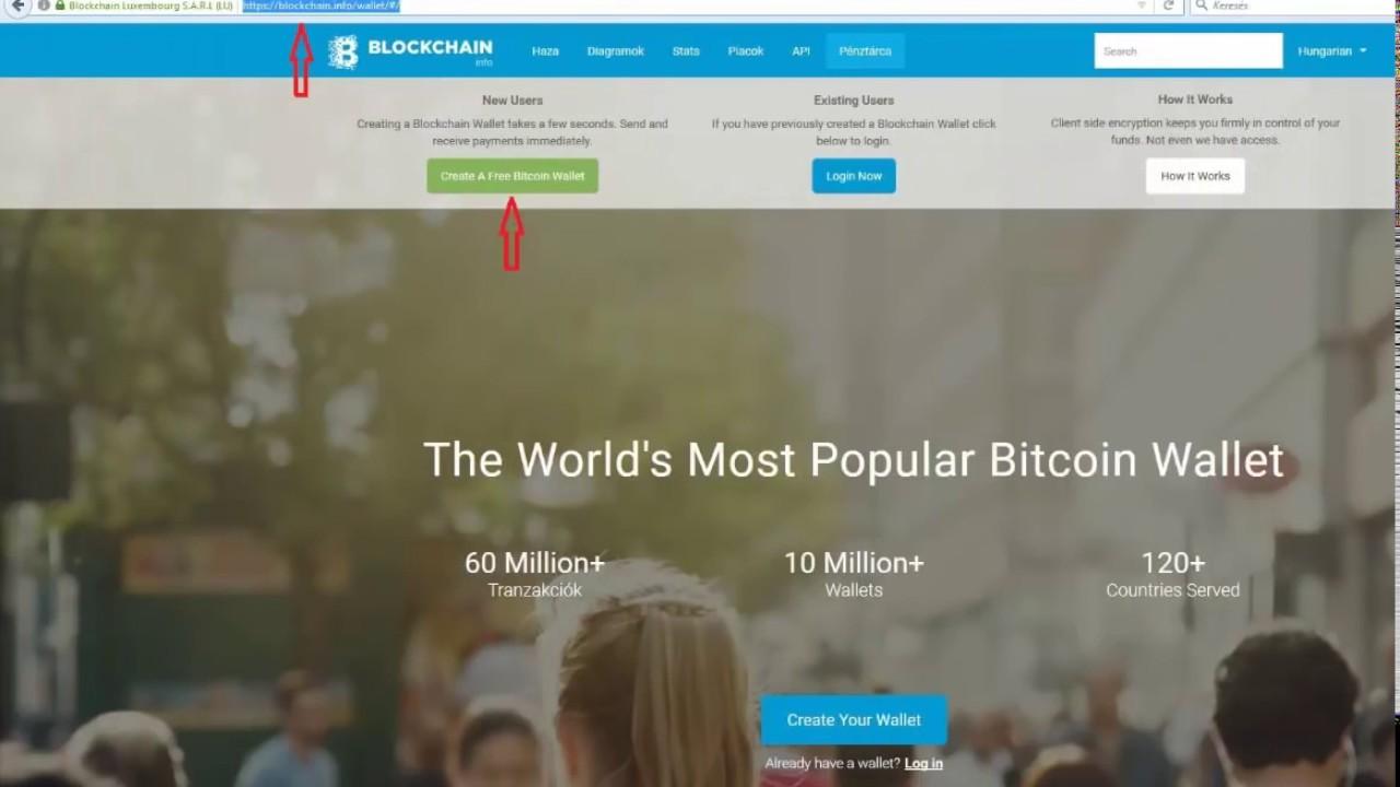 bitcoin weboldal regisztráció