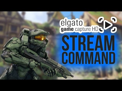 How To Use Stream Command W/ Elgato Game Capture HD Software - Tutorial