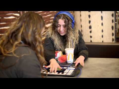 McDonald's McTrax: Play the Placemat