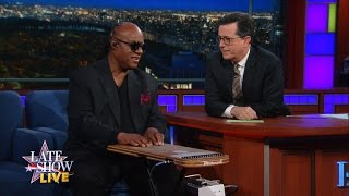 Stevie Wonder Offers To Perform Surgery On Stephen