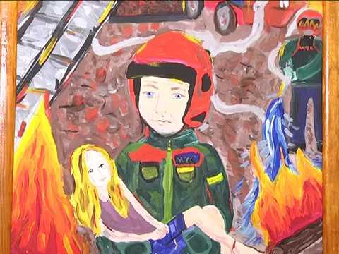 2017-03-21 г. Брест. Итоги конкурса «Спасатели глазами детей». Новости на Буг-ТВ.