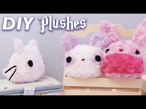 How to make - Cute Plushes