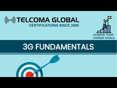 3G fundamentals course by TELCOMA Training