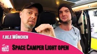 Vorstellung Space Camper Light Open VW T6 | Happy Camping