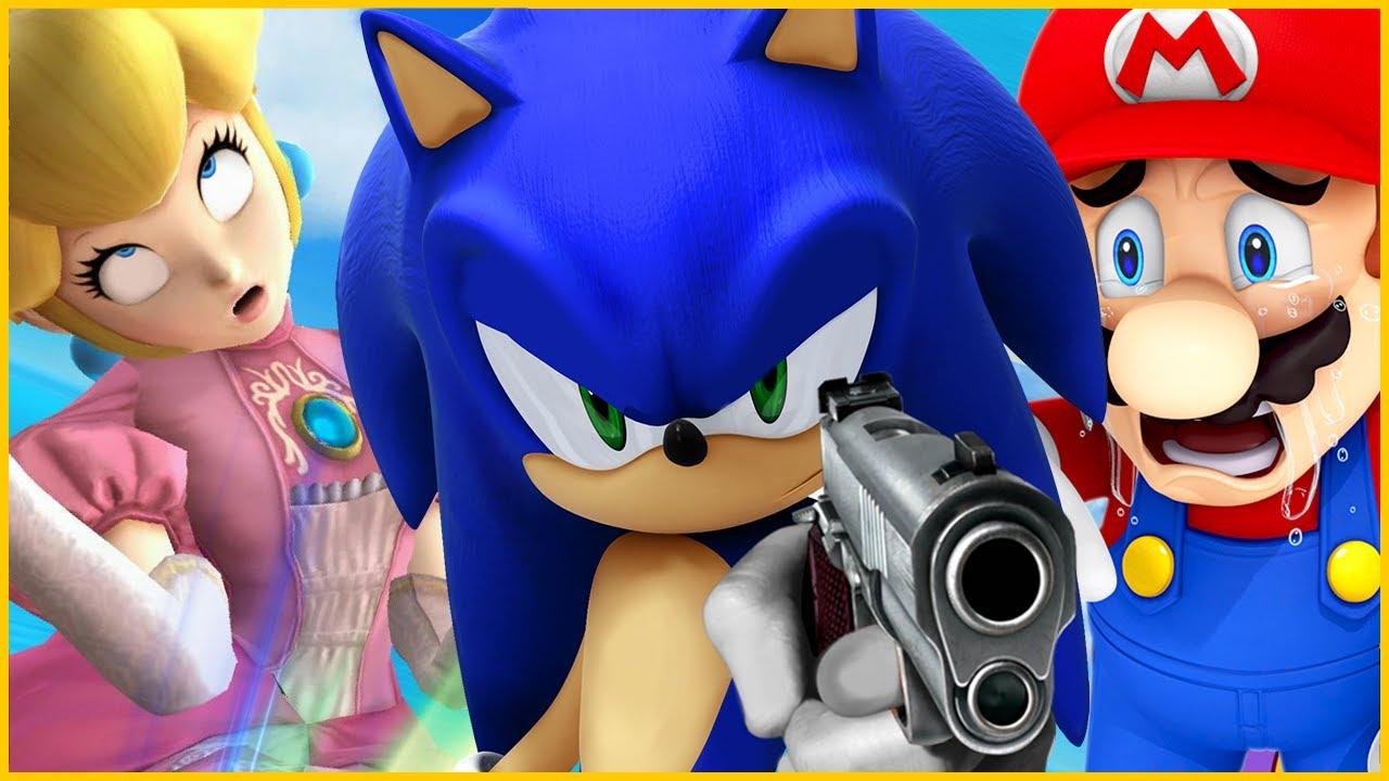 [SFM] Sonic Disses Mario | Rap Beef