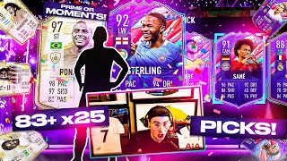 FUT BIRTHDAYS PACKED IN 25 x 83+ ICON SWAPS PACKS! 🎉 FIFA 21 Ultimate Team