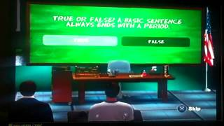 Are You Smarter Than A 5th Grader PS2 Game 1 Part 1