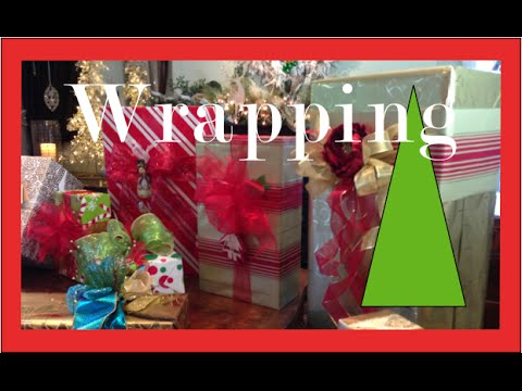 How to wrap a gift - Christmas Gift Wrapping