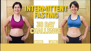 INTERMITTENT FASTING 30 Day Challenge  // Alice Dixson