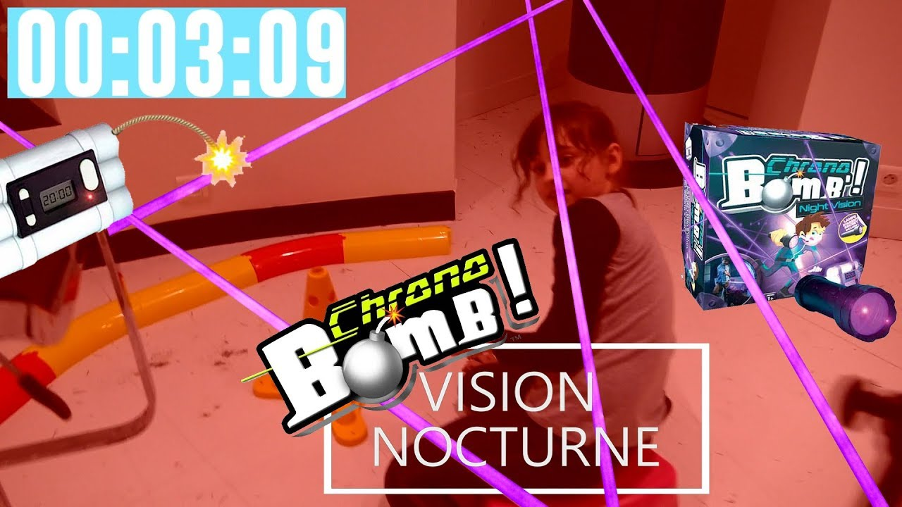 chrono bomb night vision mission de nuit pour agents kalys et athena sbt jeu de soci t. Black Bedroom Furniture Sets. Home Design Ideas