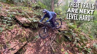 THESE TRAILS ARE HĄRD TO RIDE FIRST TIME!! UK'S FINEST STEEP TECH!