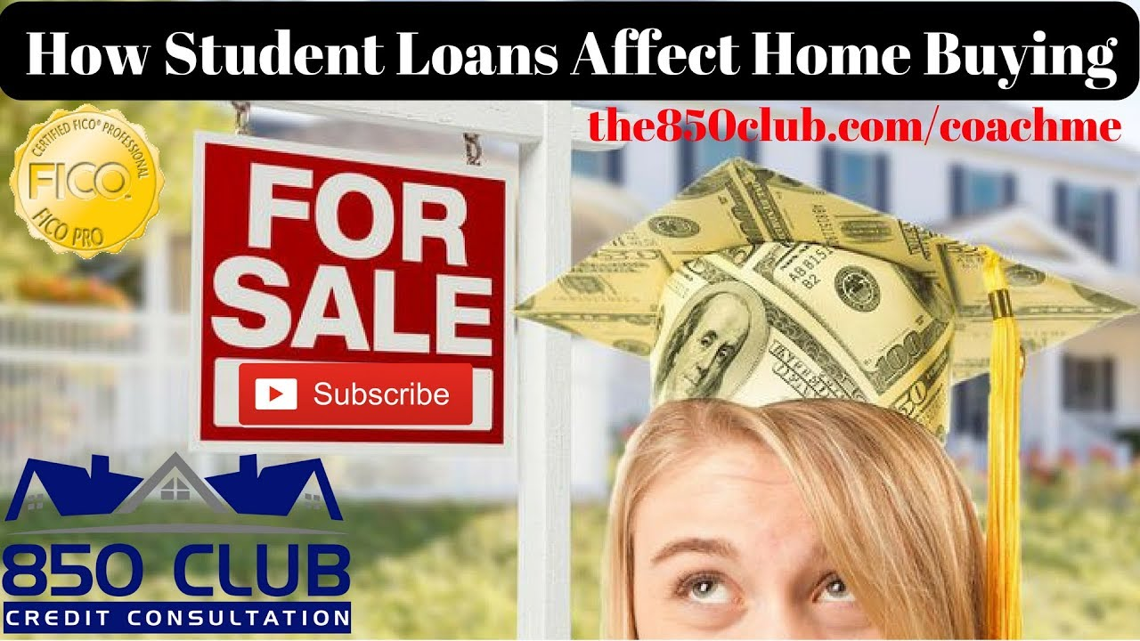 How Student Loans Affect Home Buying Sallie Maeus Department Of