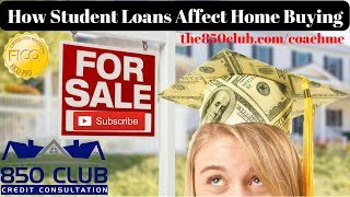 How Student Loans Affect Home Buying - Sallie Mae/US Department Of Education/Navient/Nelnet