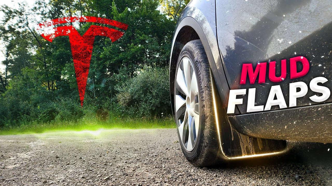 Rally Armor Mud Flap Install and Review - Tesla Model Y or 3