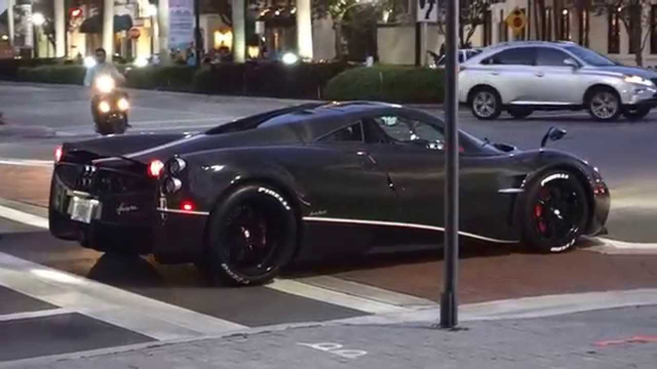 2014 pagani huayra 'la monza lisa' ownedkris singh in miami