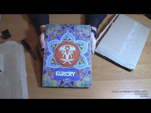 Far Cry 4: Collector's Edition Guide. Unboxing