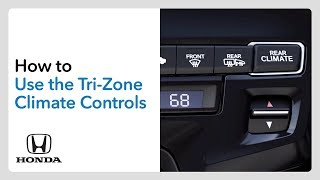 homepage tile video photo for How to Use the Tri-Zone Climate Controls– Odyssey