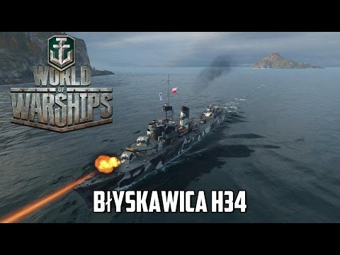 World of Warships - Błyskawica H34