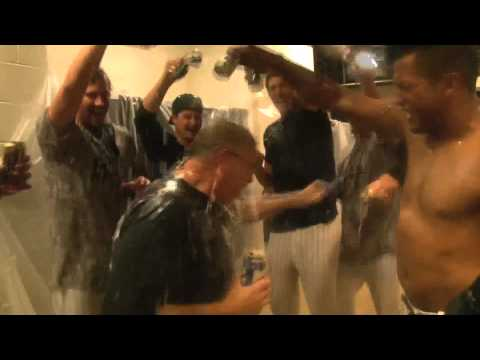 Your Birmingham Barons Celebrate Winning the 2013 Southern League Championship