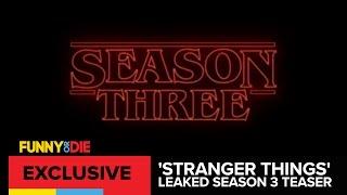 'Stranger Things' Leaked Season 3 Teaser