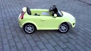 Детский Электромобиль VOLVO C30 - raspashonka.com.ua(Самый широкий выбор детских электромобилей, детских квадроциклов по самым низким ценам. Заходите и заказыв..., 2013-06-08T18:03:39.000Z)