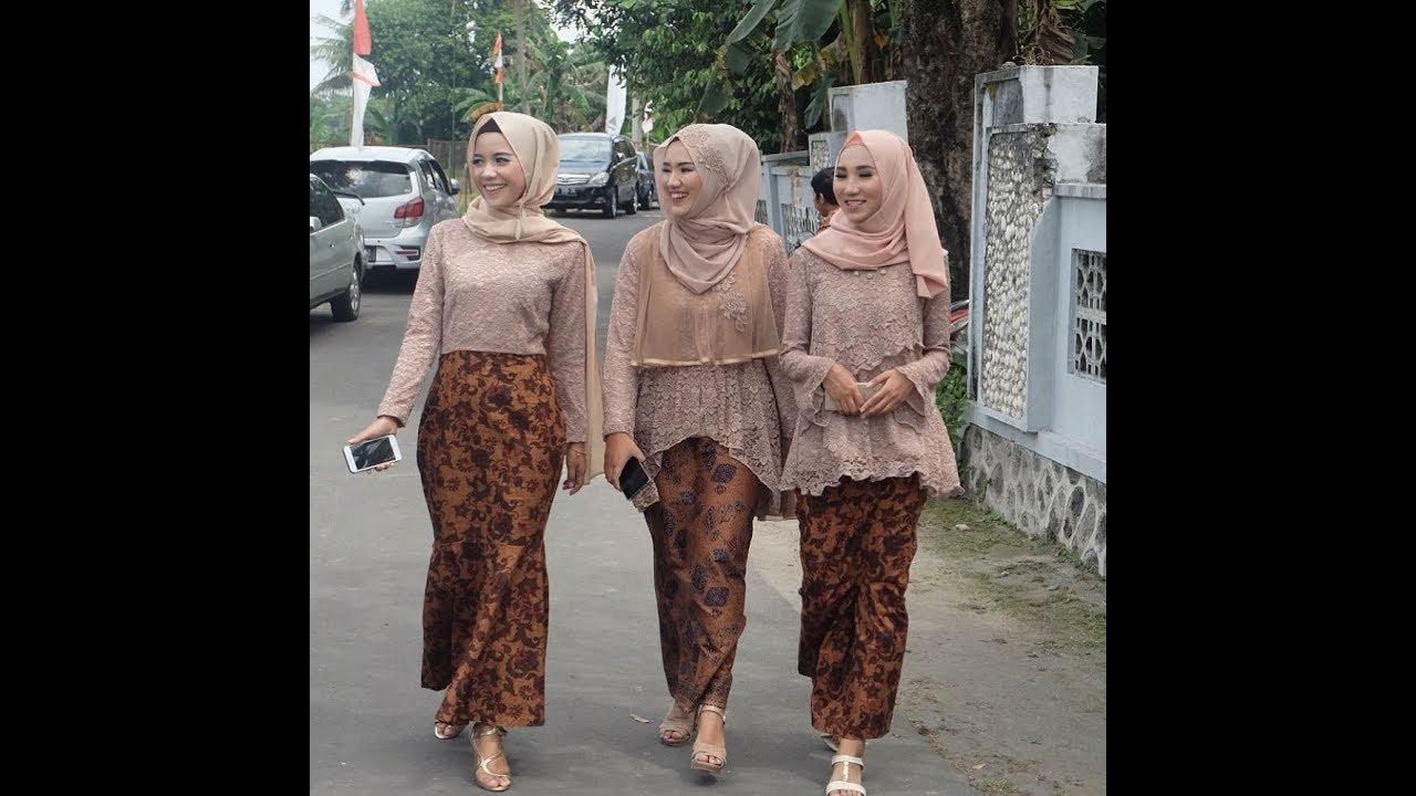 Jual Gamis Atasan Brokat Bawahan Batik Wa 62 831 0413 1538 Gamis Hijab Syari