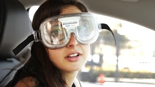 People Try A Drunk Driving Simulator