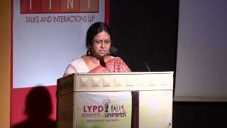 Ms.Lalitha Dhara at LYPD talk show: Anarth - UnEarth