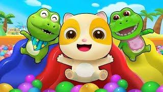 五隻小鱷魚 | 最新動物兒歌童謠 | 1-5學數字卡通動畫 | 寶寶巴士 | 奇奇 | BabyBus