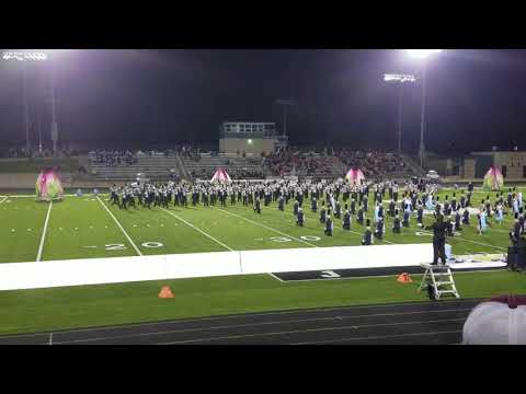 Rockford High School Marching Band Jenison Invitational 2017