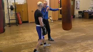 Поймай локоть! Усилить жёсткость удара в боксе