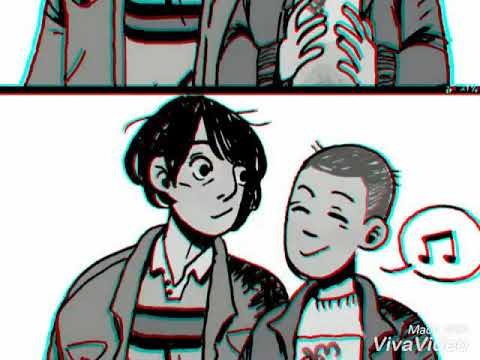 Eleven x Mike (I need your love) fan art