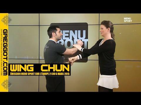 Wing Chun Kung Fu sur l'Equipe 21 - Menu Sport du 6 mars 2015