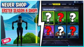 Primeira temporada X Shop e novas skins 🛒 Fortnite Shop 2, 8