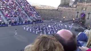 Edinburgh Military Tattoo 2015: The Citadel Regimental Band and Pipes