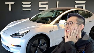 PICKING UP MY NEW CAR!! (Tesla Model 3)