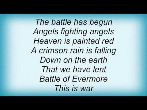 Morgana Lefay - Battle Of Evermore Lyrics