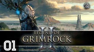"""Legend of Grimrock 2 #01 """"Náufragos numa ilha estranha"""" Gameplay Português Vamos Jogar PT-BR"""