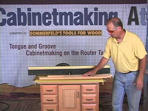Sommerfeld's Tools for Wood - Router Tables Made Easy with Marc Sommerfeld - Part 4