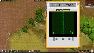 Prison Architect: Arcade Cabinet PONG mod