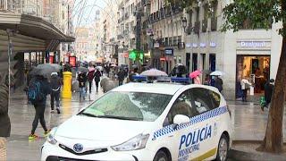 Comienza el dispositivo policial en Madrid para estas navidades